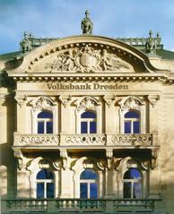 Villa Eschebach, Dresden, Tyskland. Håller utställningar samt huvudkontor för VR-Bank.
