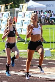 Wilma Hultström 800 + 400 meter
