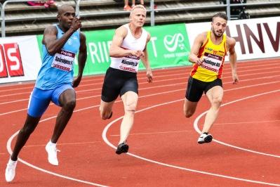 Tom Kling-Baptiste 200 meter