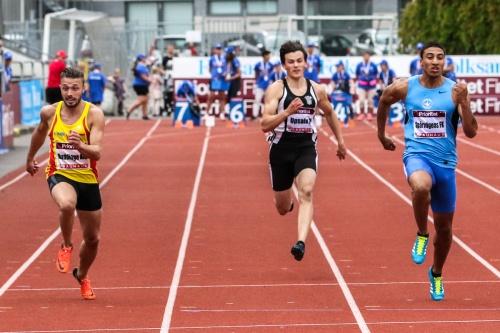 Tom Kling-Baptiste 100 meter