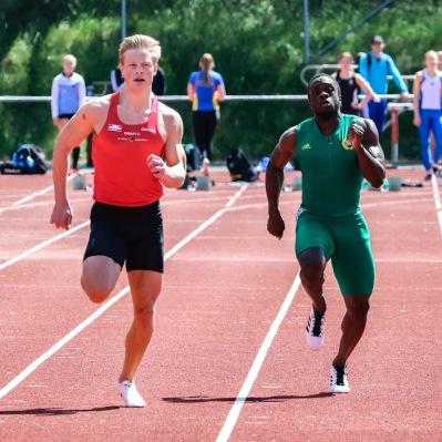Desmond Rogo - 100 meter - 3:a - 10,80
