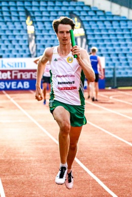 4*100 m - 5:a - 42,50 - Amir Shaker - Desmond Rogo - Jonatan Borg - Erik Ehrlin