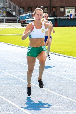Josefine Sandelius - 100 meter - 2:a - 12,74