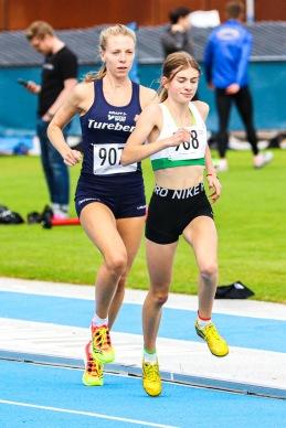 Nora Lundin - 3000 meter - 2:a - 10.17,71