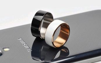 Glöm smarta klockor - här är den smarta ringen - Smart ring VIT stl 9
