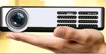 Världens minsta projektor med inbyggd dator - DLP 600
