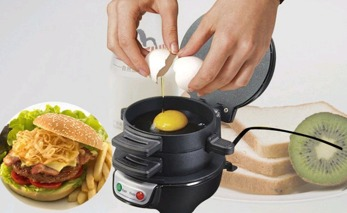 Cool Sandwich Maker som steker ägg -  Sandwich Maker