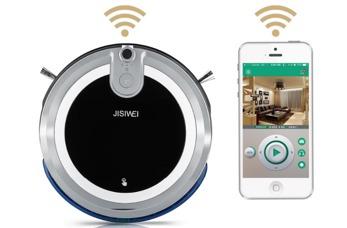 Robotdammsugare som kan styras med mobilen - Jisiwei i3