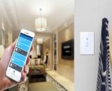 Strömbrytare med wifi funktion styrs från mobil mm