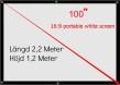 Projektor med inbyggd Android dator 4500 lumens Full HD Led, smart tv Projektor
