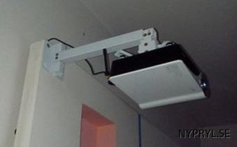 projektor hållare vägg