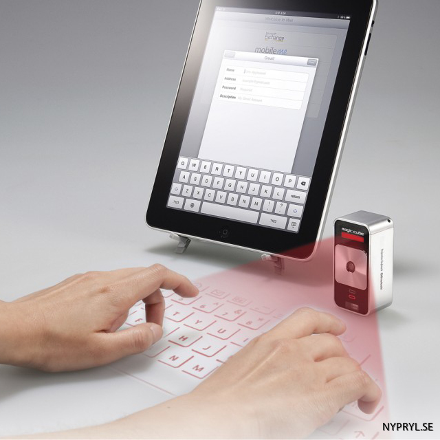 Cube-Laser-Virtual-keyboard