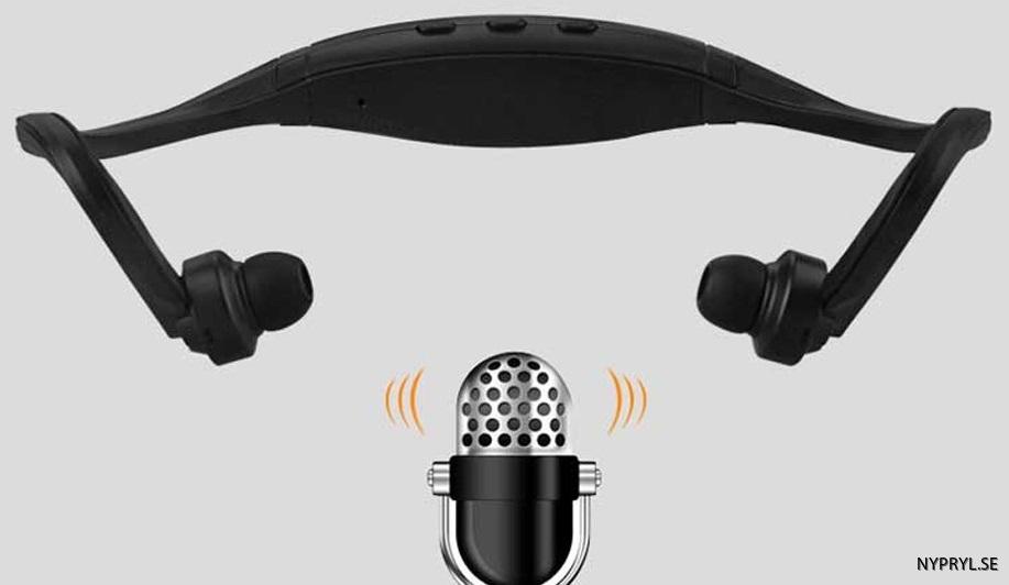vattentäta hörlurar med microphone