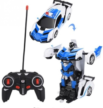 Radiostyrd bil som kan bli robot - Radiostyrd bil