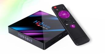 Senaste mediaboxen 4Gb ram Android 9.0 fullmatad iptv kanaler och film app -