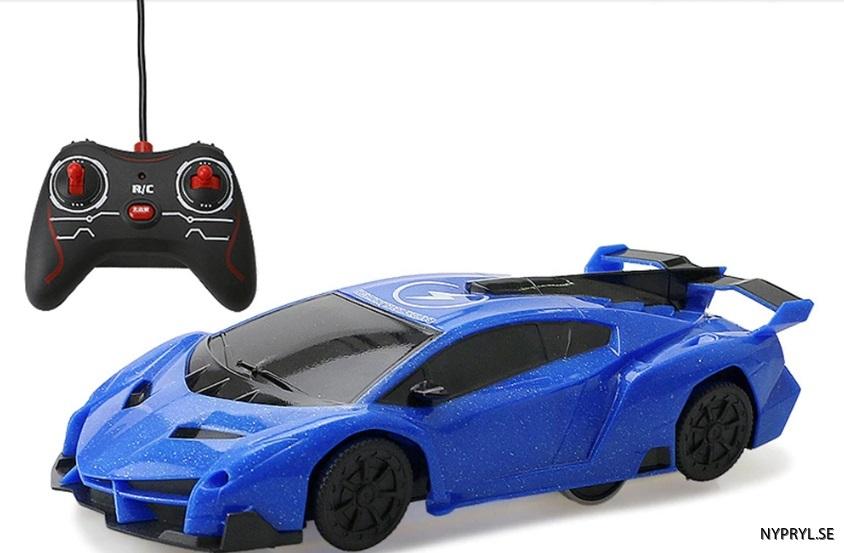 stunt car blå