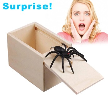 Prank box med spindel - Prank box