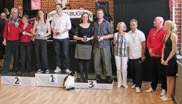 Åsa och Kjell tog en tredjeplacering i B+35R i sin första tävling tillsammans! Ett jättestort Grattis ifrån Bromma!