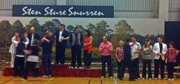 Johan och Camilla tog en 5:e plats på tävlingen i Sävsjö i B+35A! Grattis säger vi ifrån Bromma!!