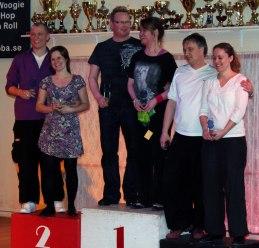 David och Caroline kämpade sig hela vägen till pallen och tog en  välförtjänt 2:a placering i Ebbas R-tävling.