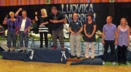 Andreas och Carita/Ebba kom 2:a i Ludvikasnurren i B+35D!