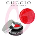 Cuccio T3 LED/UV - Ruby Red 28g
