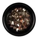 BrillBird- Metal Flakes 3 – Champagne