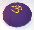 Meditationskudde med broderad Om-symbol - Lena´s Hatha Yoga