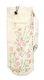 Yogaväska - Lena´s Hatha Yoga - Yogaväska Beige med broderade blommor