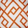 Kuddfodral - Orange Check