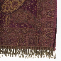 Stor pläd Paisley Brown