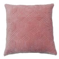 Kudde Geometric Dusty Pink