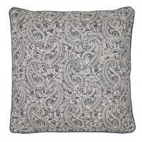 Kuddfodral Paisley Dusty Blue