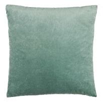 Kuddfodral Chamois Velvet Denim Blue 50x50, 100% bomullssammet, www.cushbeyond.se