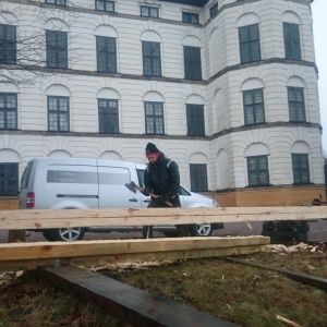 Timmerarbete 8 - Takrenovering Skoklosters Slott