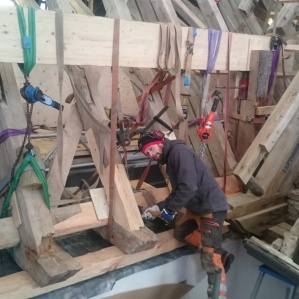 Timmerarbete 10 - Takrenovering Skoklosters Slott
