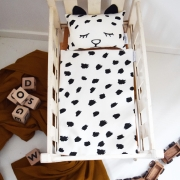 Leopard doll bedding