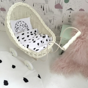 Dottie Bunny doll bedding