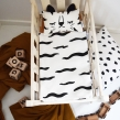 Tiger doll bedding