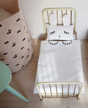 Rabbit doll bedding