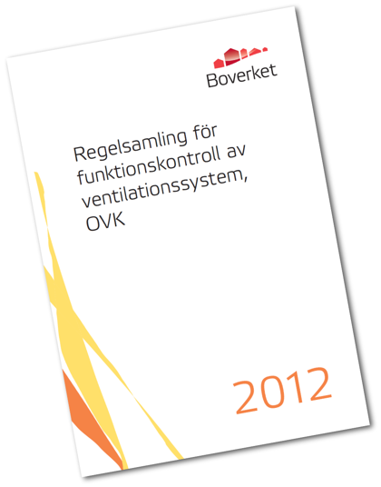 Regelsamling för funktionskontroll av ventilationssystem, OVK