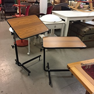 *SÅLDA* 2 st läsbord, 1960-tal