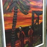 Oljemålning sign Rollo