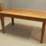 Matbord med tyngd, ek