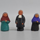 3 st. figuriner, keramik,