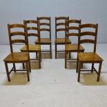 6 st. stolar, 1900-talets slut