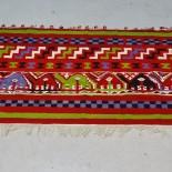 Gobeläng, handvävd, troligen Sydamerika