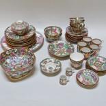 Parti orientaliskt porslin, Kina, ca 35 delar
