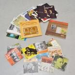 Parti vinylskivor, LP och singlar