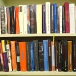 Parti böcker, mestadels svensk politik
